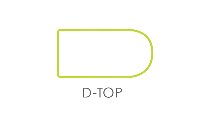 D-Top Worksurface