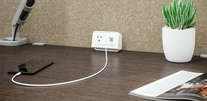 Plug in to power up
